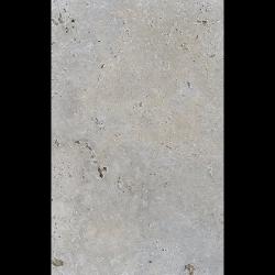 Carrelage pierre naturelle TRAVERTIN SILVER gris 40x60 cm 1er choix EP.30MM -0.99m²
