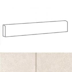Plinthe imitation carreaux de ciment SKYROS BLANCO 8x44 cm - 6.60 ml
