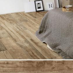 Carreau imitation bois 20x120 cm WOODMANIA Caramel R10 - 0.96 m²