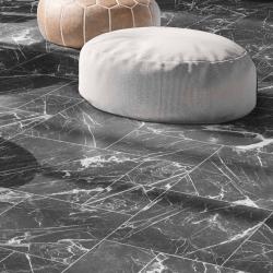 Carrelage marbré multiformat 4 carreaux - DARK MARMOL - 0,87m²