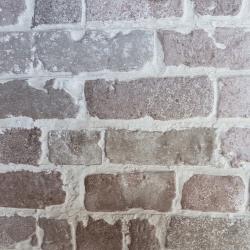 Parement mural cérame style pierre brique 31X56 cm MANHATTAN CHARCOAL - 1.21m²