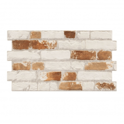 Parement mural cérame style pierre brique 31X56 cm MANHATTAN OLD - 1.21m²