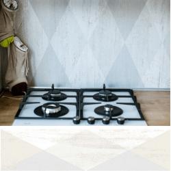 Carrelage imitation parquet rectifié Dion-R Blanco 21.8x89