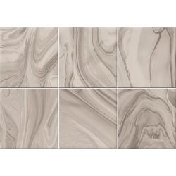 Faïence effet terre mêlée beige 23x33.5 MANKAI NUEZ - 1m²